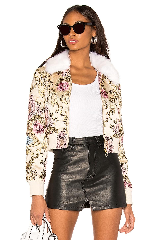 LPA Jacket 618 in Floral Jacquard