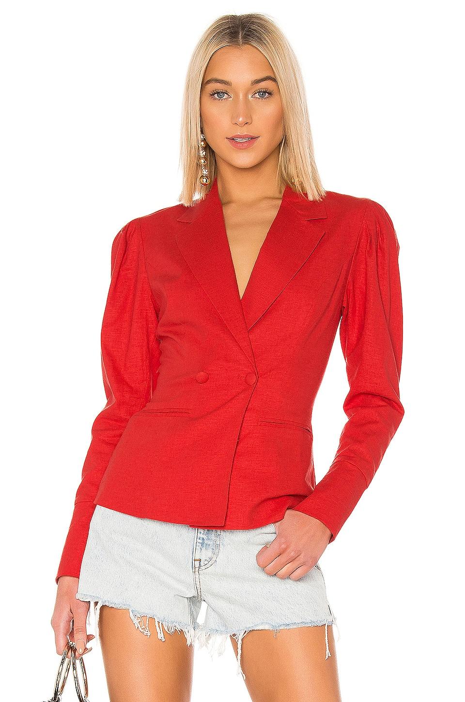 LPA Donella Blazer in Red
