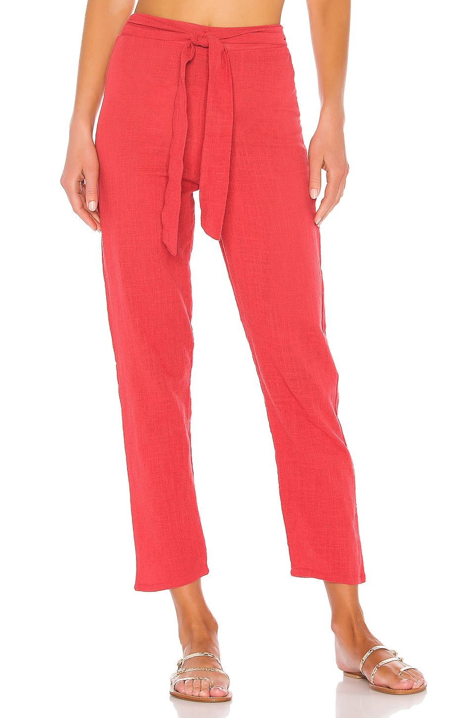 LPA Baby Love Pant in Bright Red