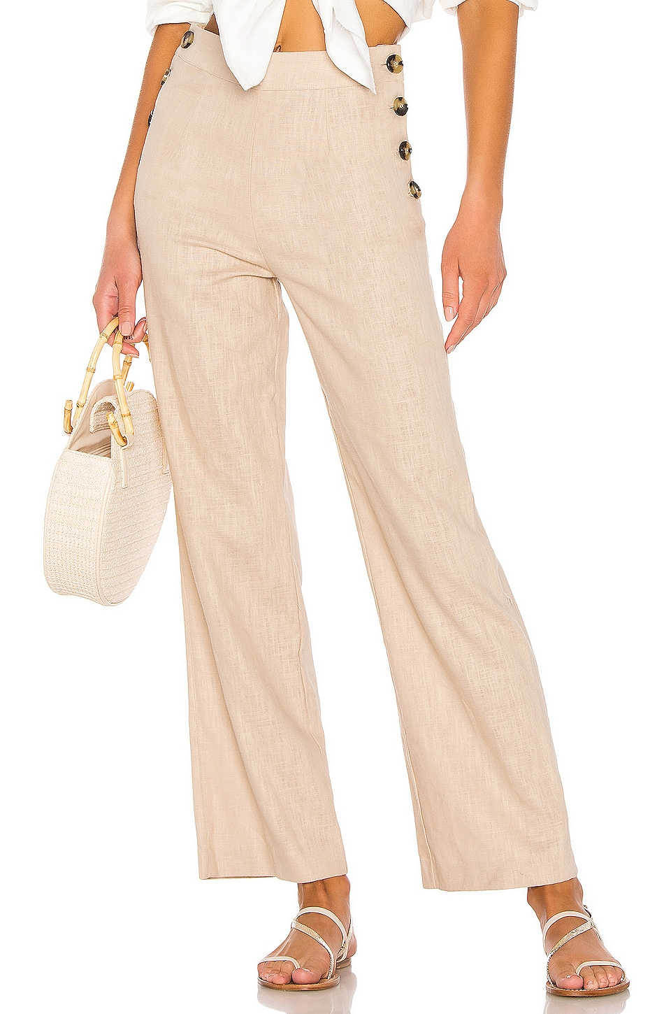 LPA Jacopo Pant in Sand