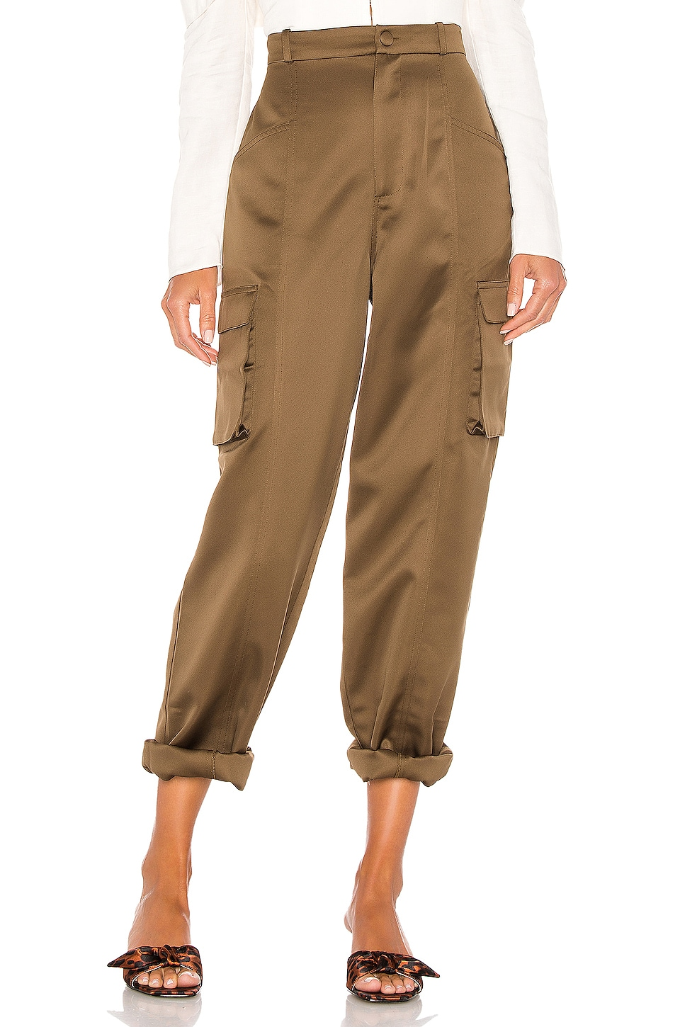 LPA Lisette Pant in Taupe