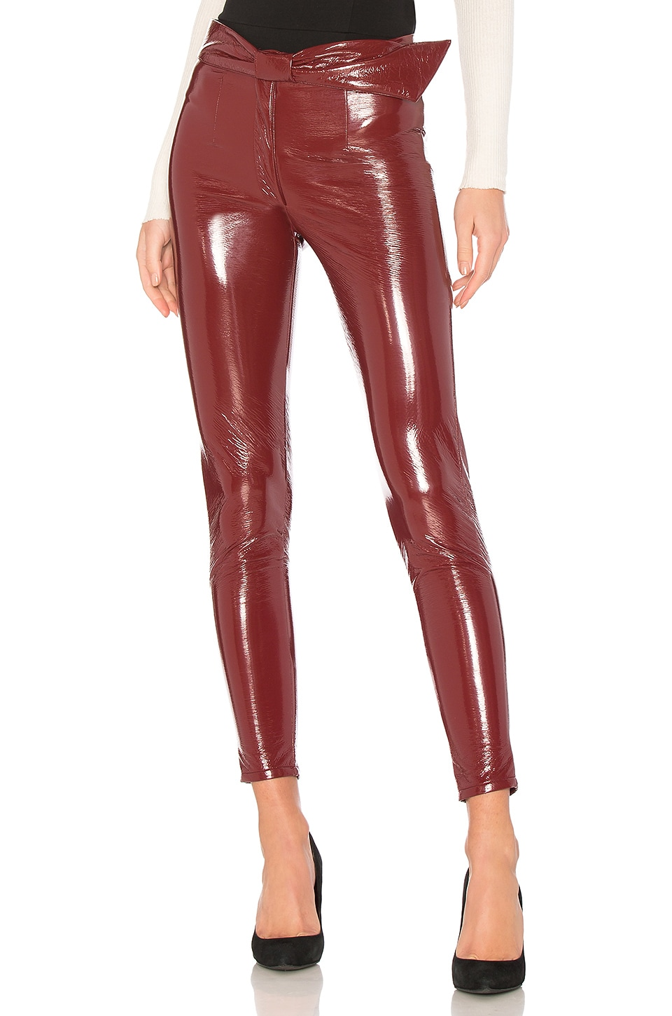 LPA Legging 599 in Cherry