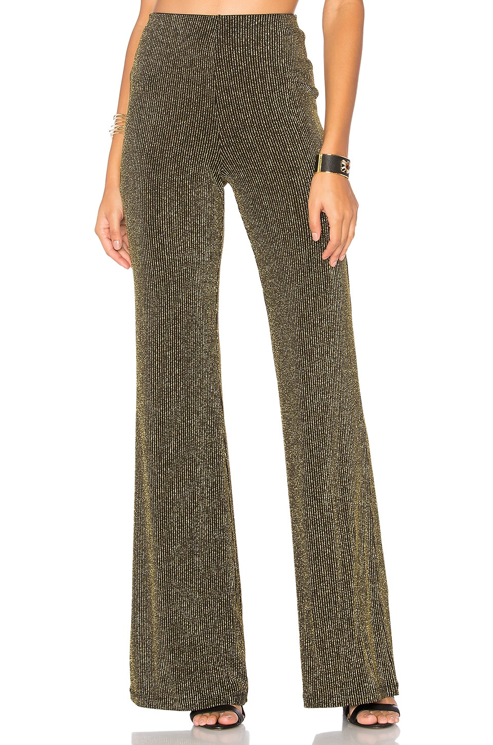 LPA Pants 93 in Black & Gold