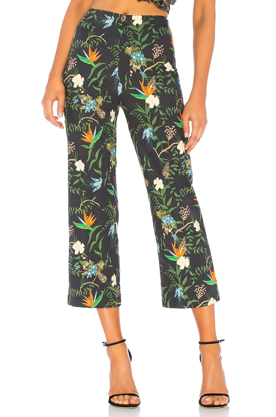 LPA Cropped Pant in Tropical Paradise