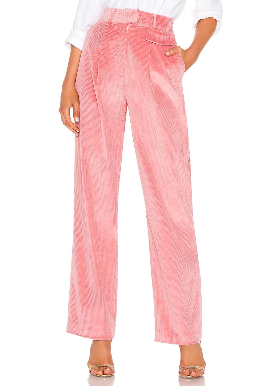 Corduroy High Waist Trouser