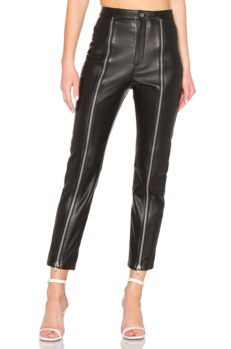 LPA Zip Up Pant in Black