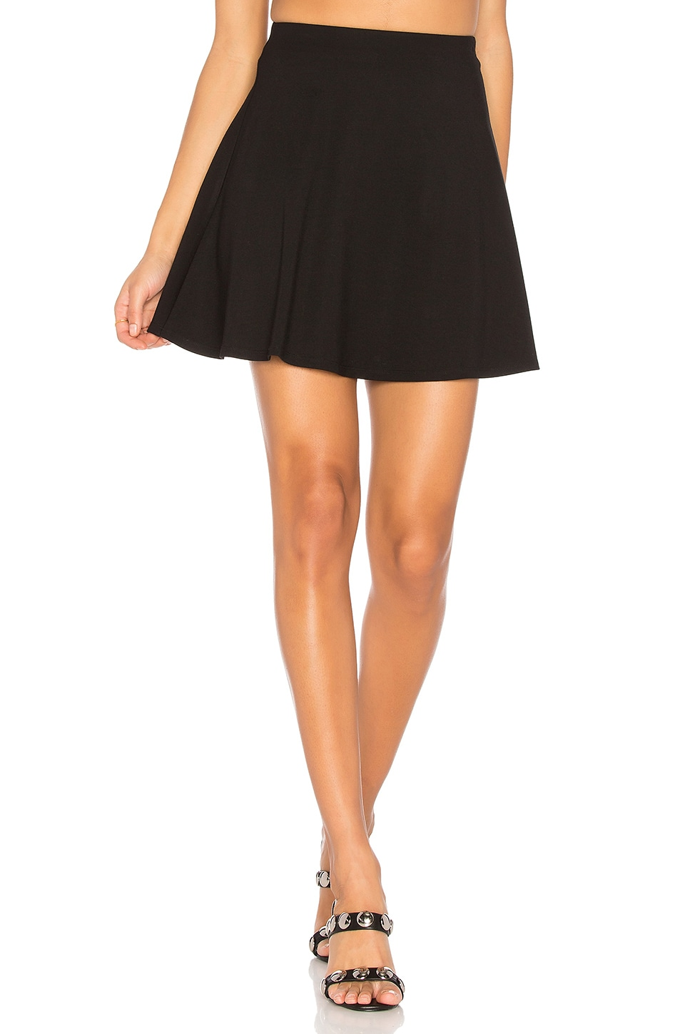 LPA Skirt 204 in Black