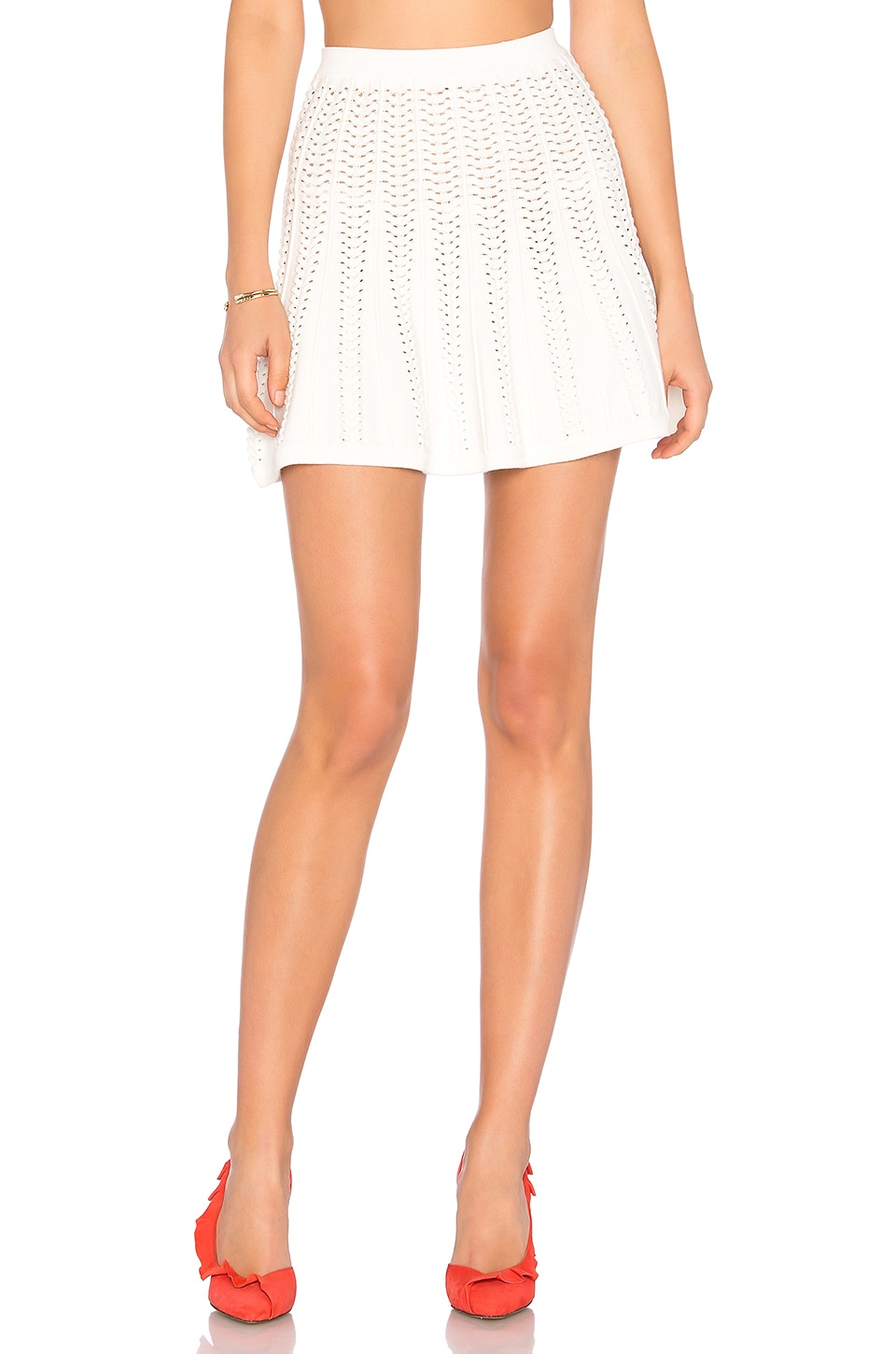 LPA Skirt 243 in Cream