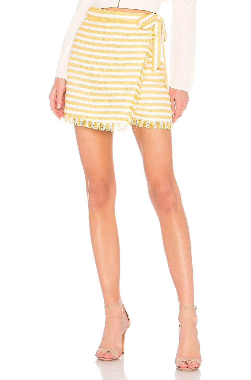 LPA Skirt 690 in Creamsicle