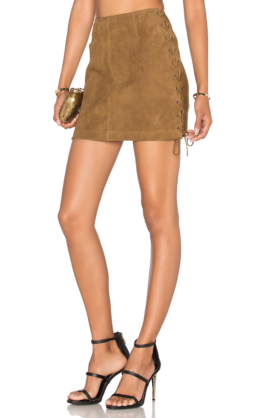 LPA Skirt 56 in Tan