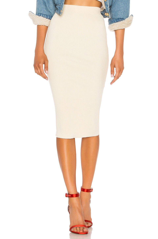 LPA Elmira Skirt in Cream