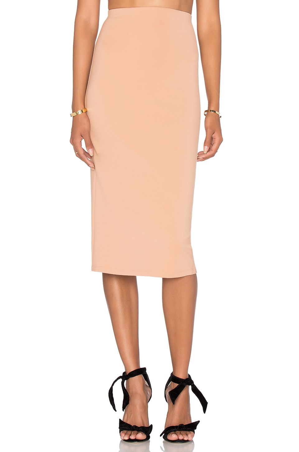 LPA Skirt 29 in Nude