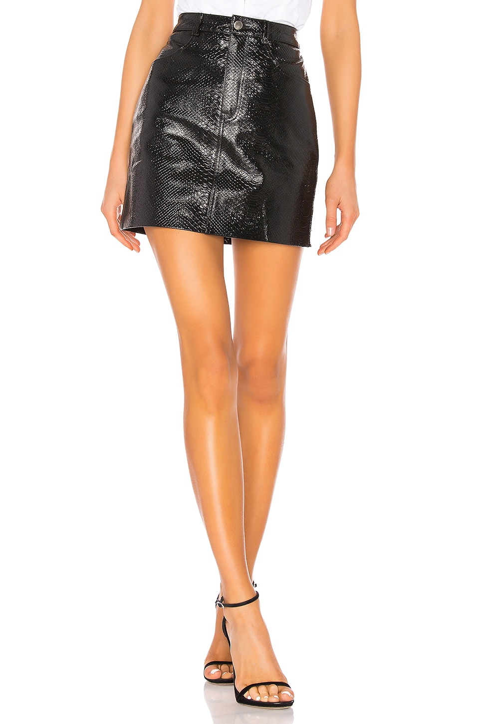 LPA Fairuza Mini Skirt in Black