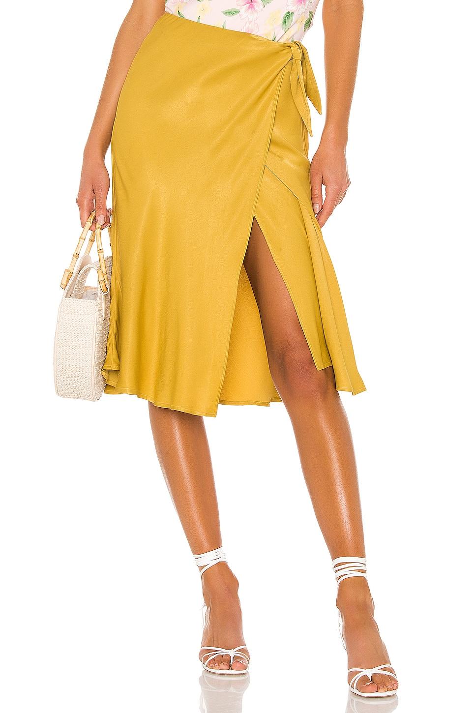 LPA Alessa Skirt in Ochre