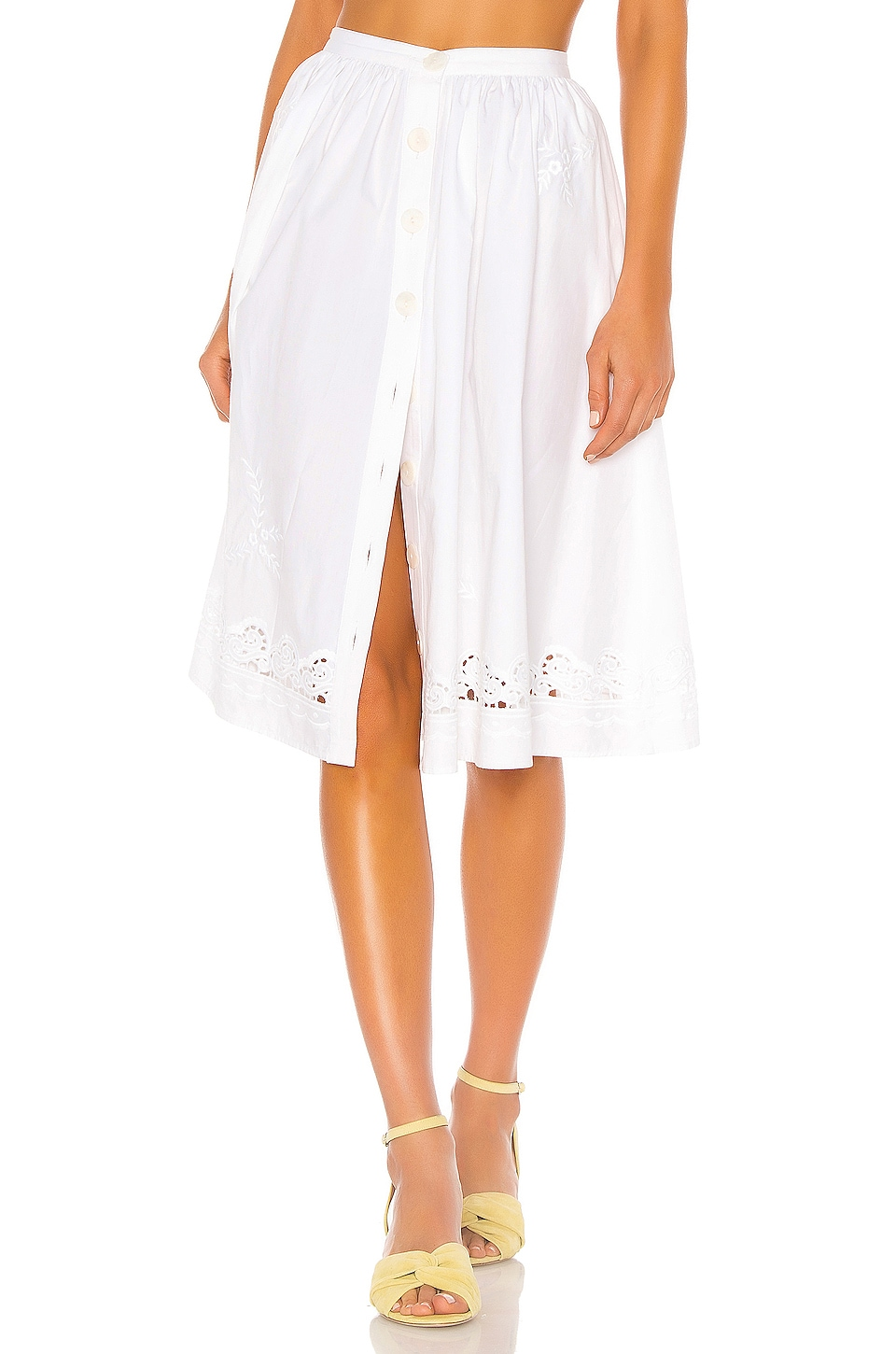 LPA Orsina Skirt in White