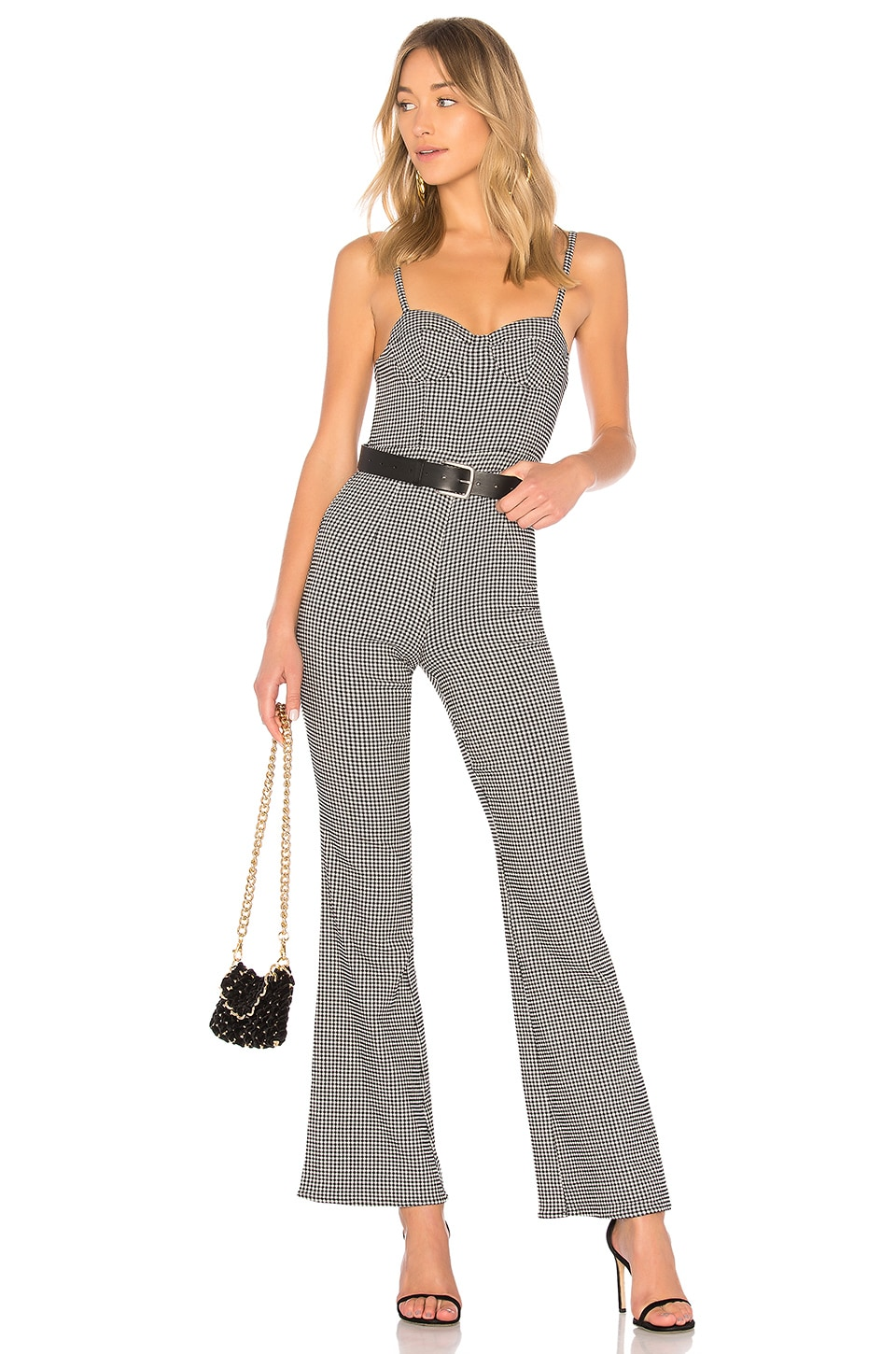 LPA Jumpsuit 609 in Black & White