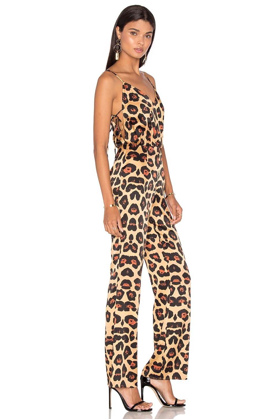 LPA Jumpsuit 15 in Painted Leopard