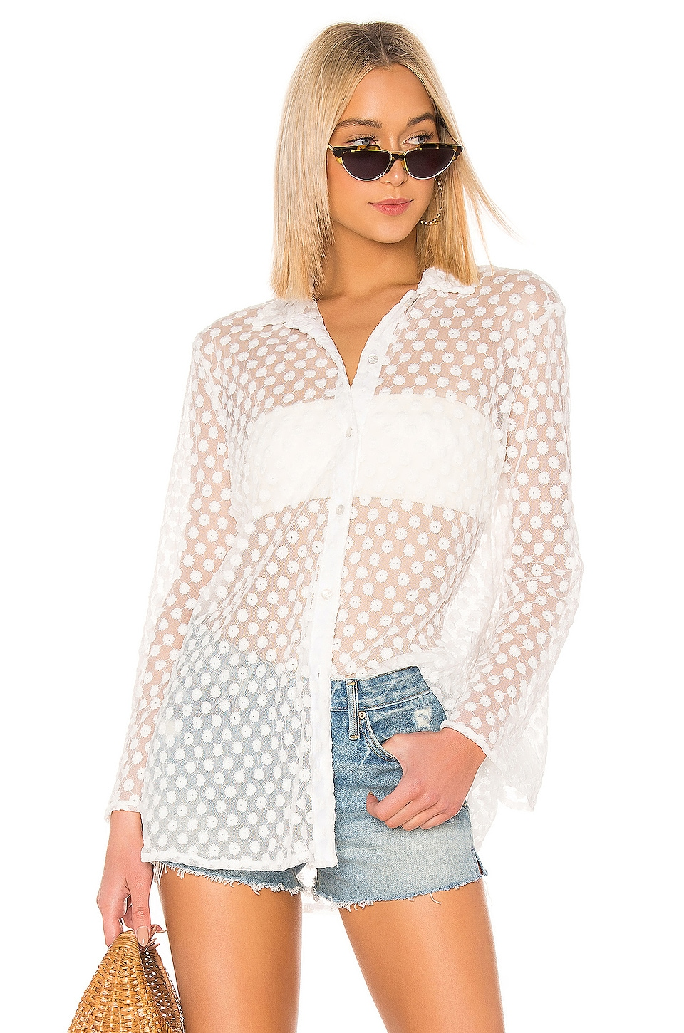 LPA Yvette Shirt in White