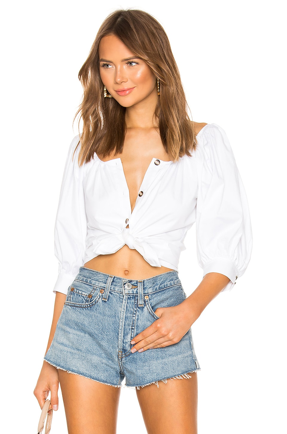 LPA Abriana Top in White