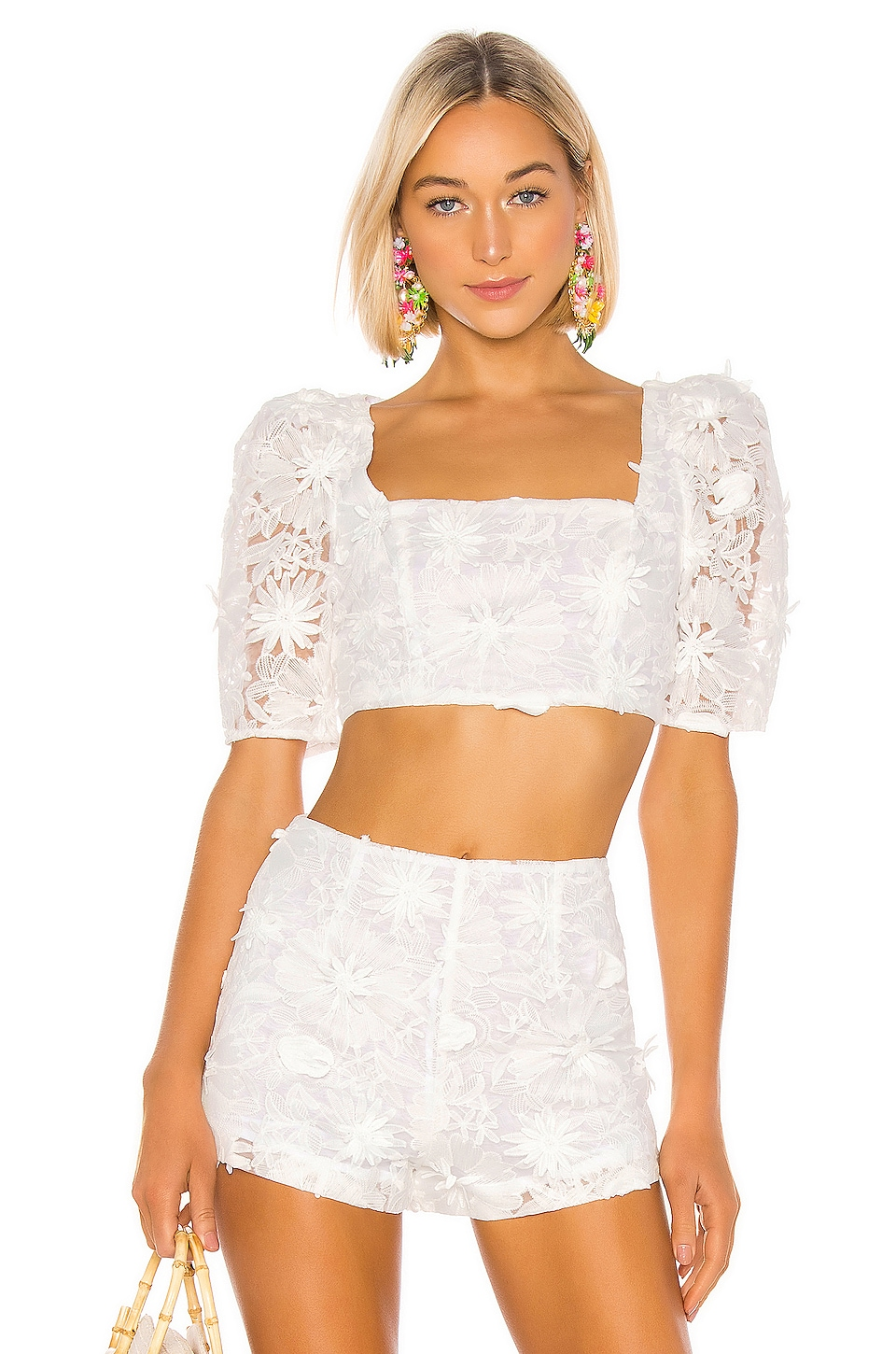 LPA Terina Top in White