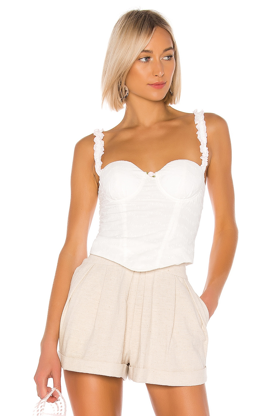 LPA Sienna Top in White