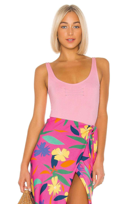 LPA Giada Bodysuit in Baby Pink