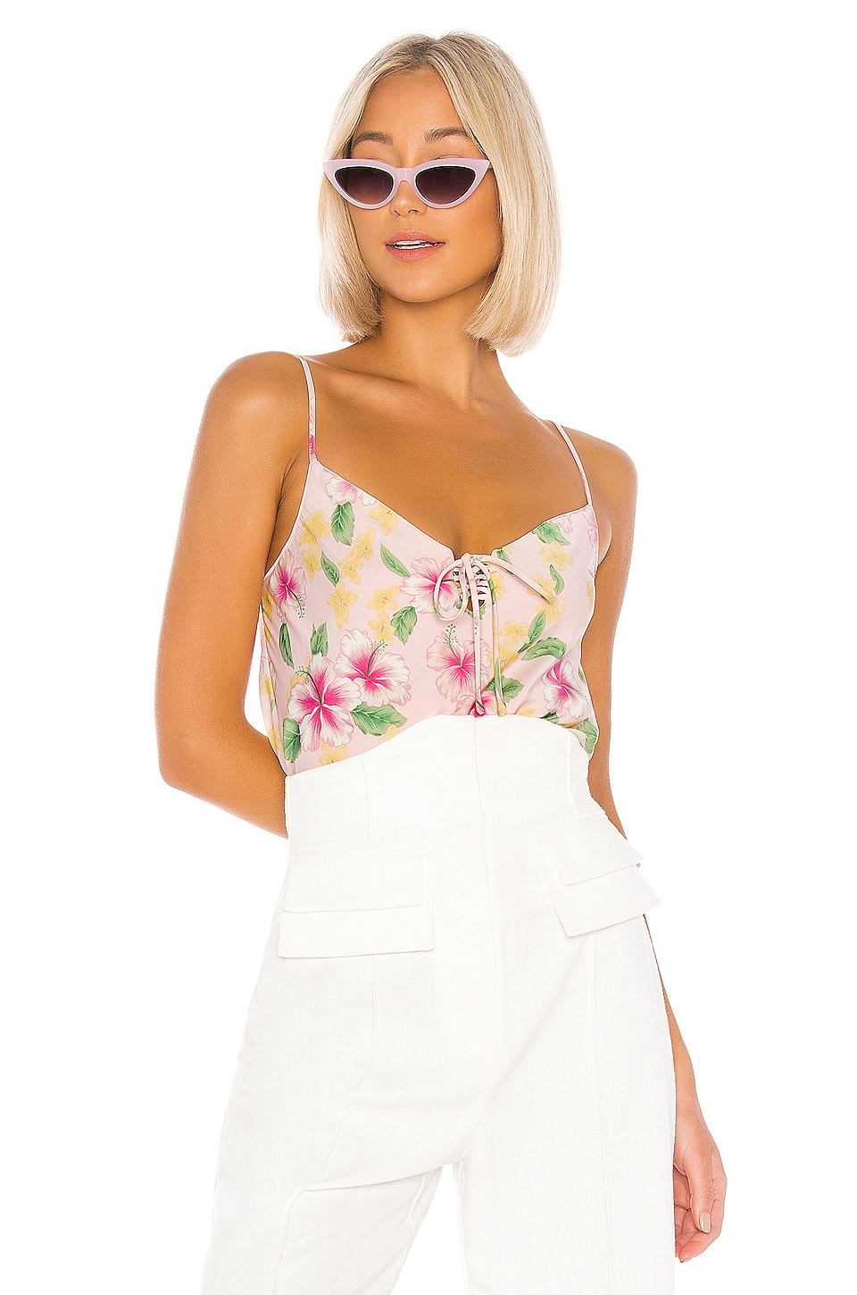 LPA Bella Top in Layla Floral