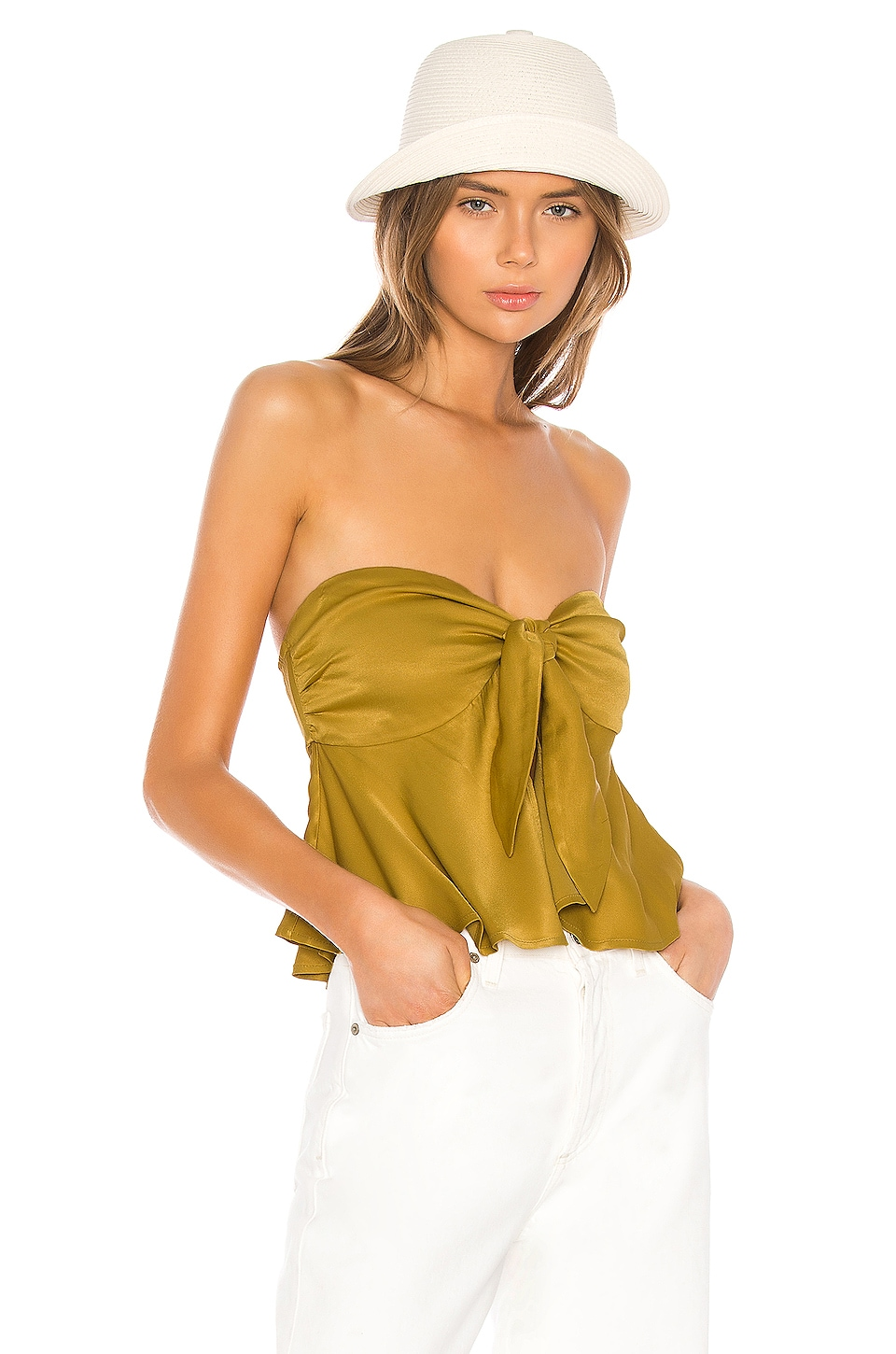 LPA Alfreda Top in Ochre