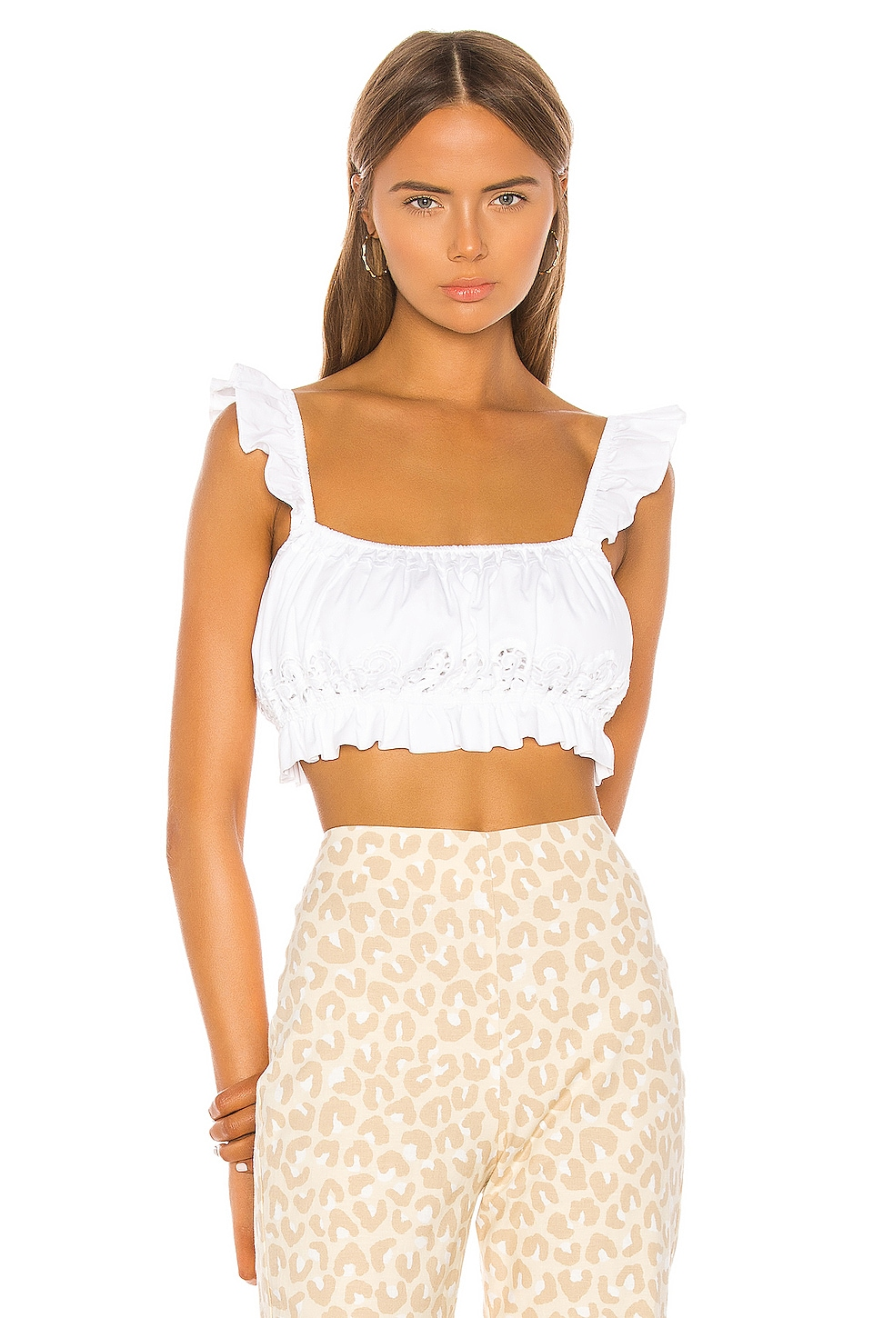 LPA Quincy Top in White