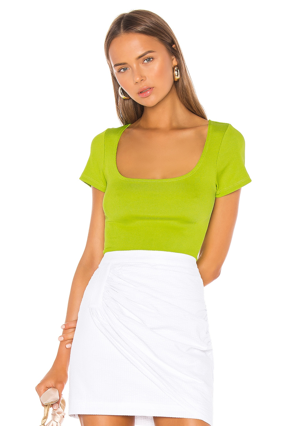 LPA Nerina Top in Lime Green