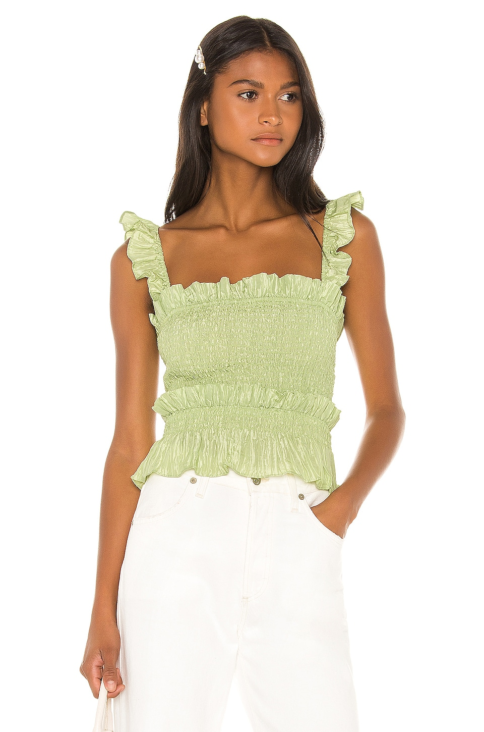 LPA Elissa Top in Green