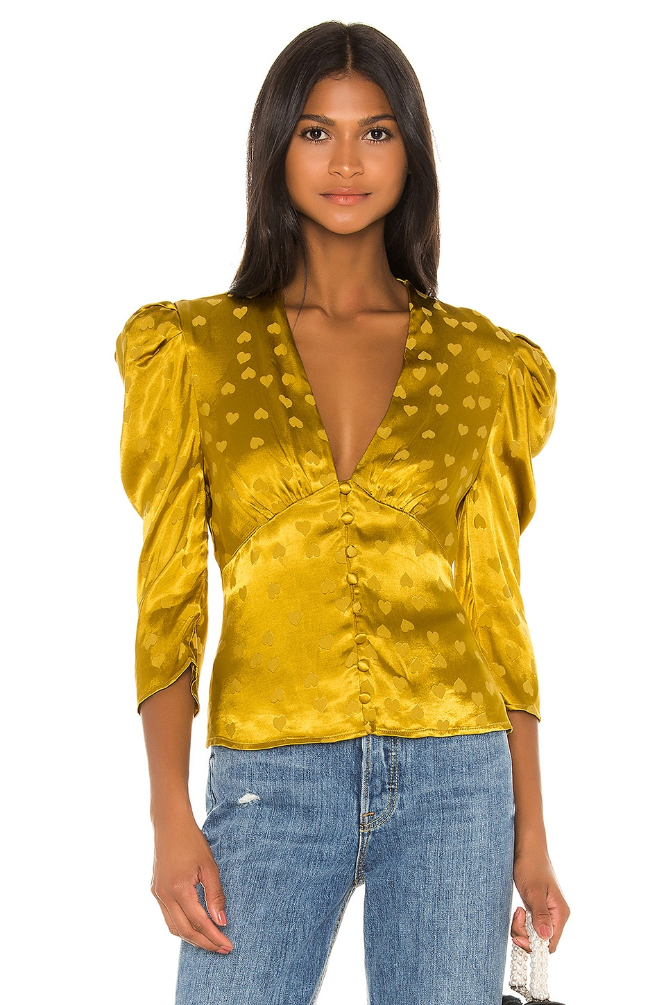 LPA Harlow Top in Golden Hearts