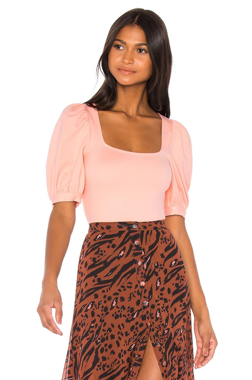 LPA Bria Bodysuit in Baby Pink