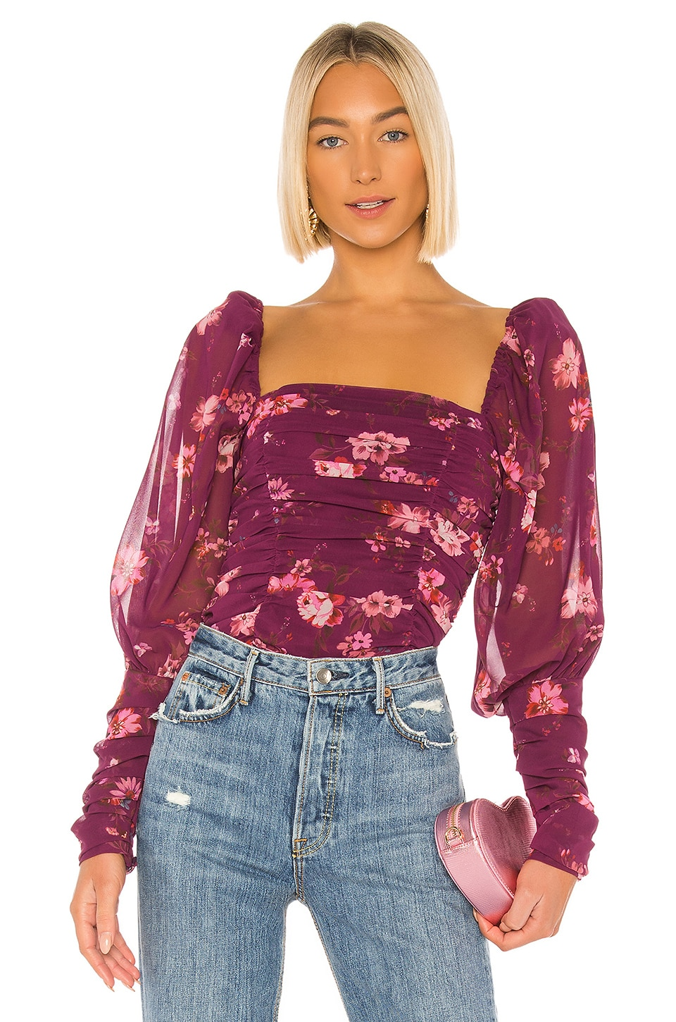 LPA Marta Top in Jolene Floral