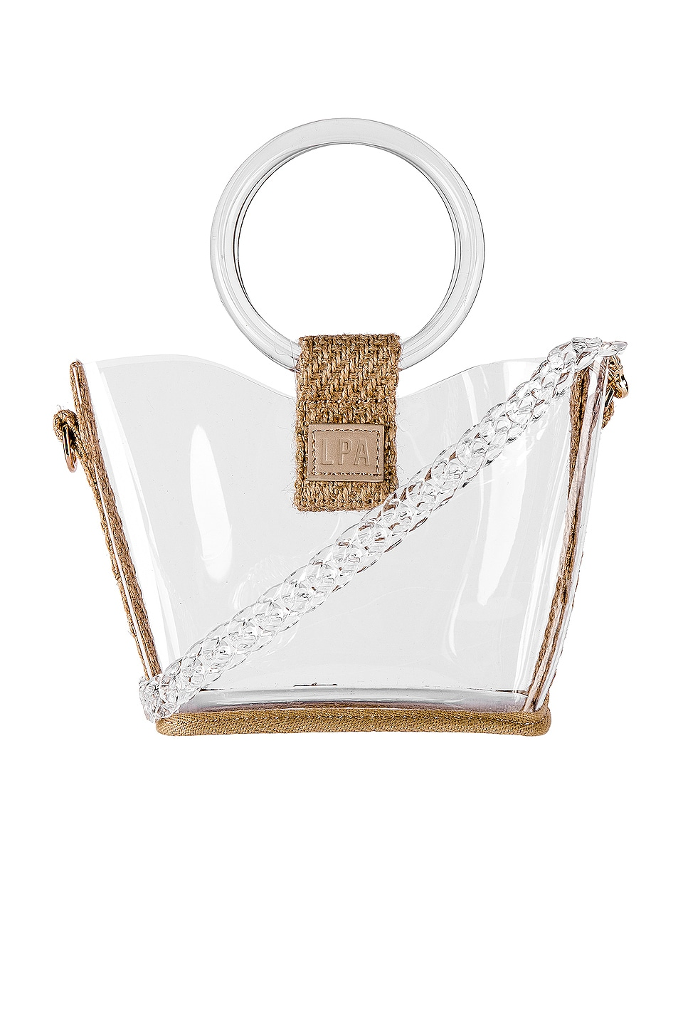 LPA Birdie Bucket Bag in Natural
