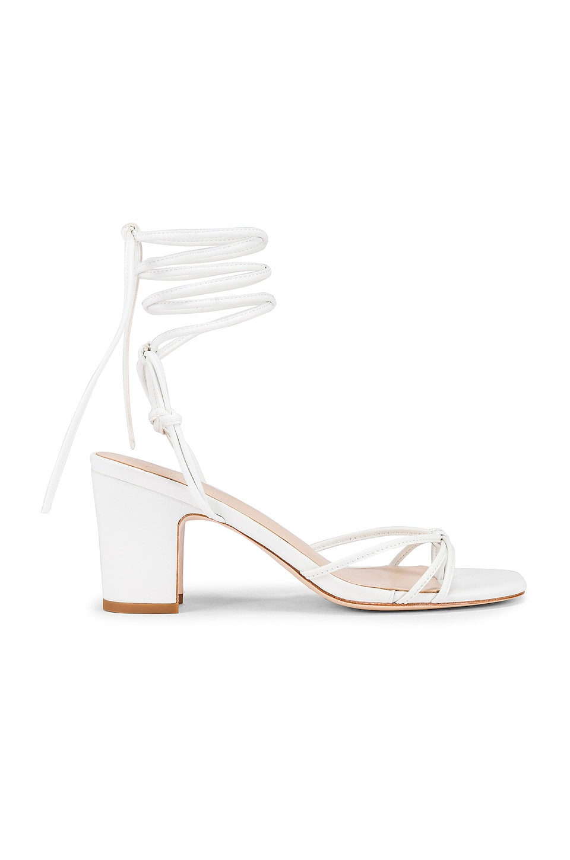 LPA Nicolo Heel in White