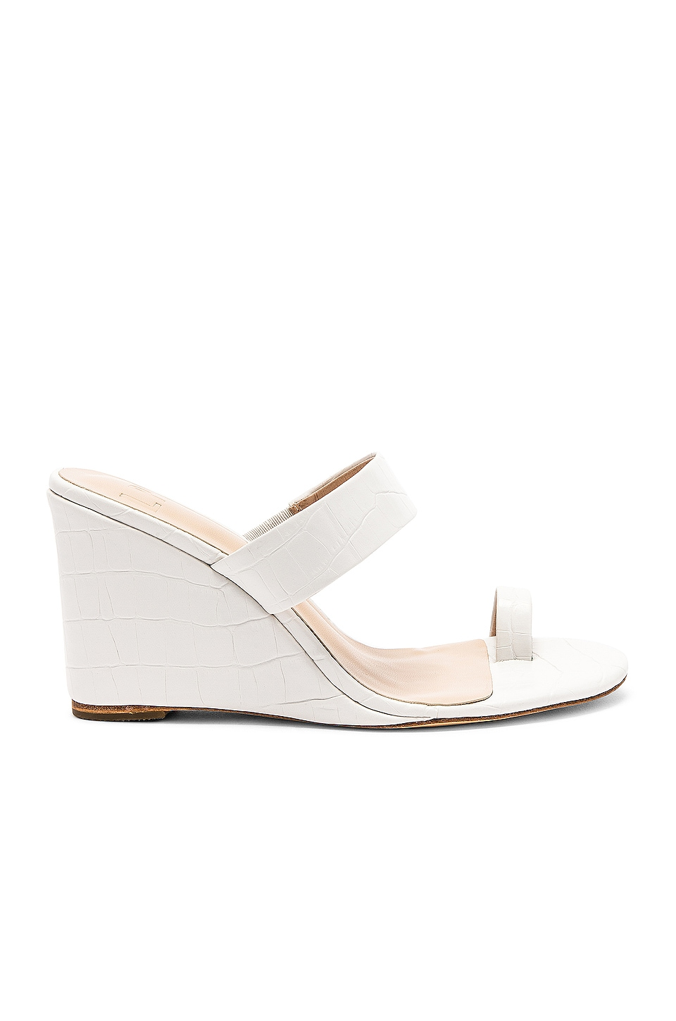 LPA Dona Wedge in White