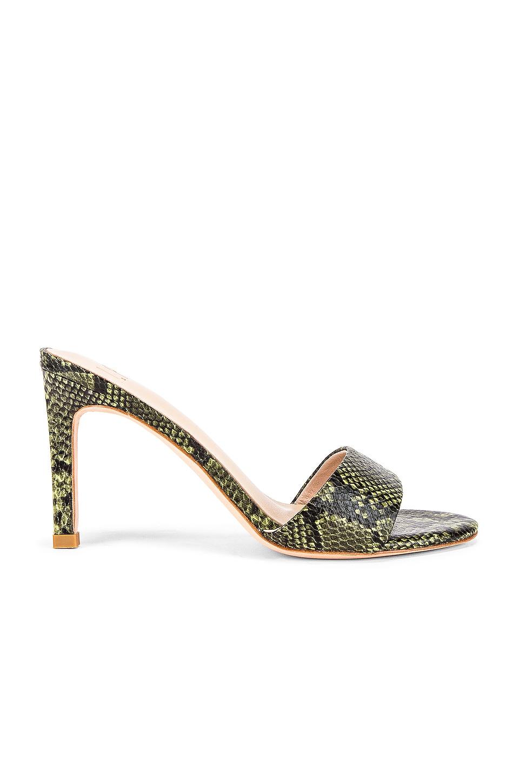 LPA Cille Heel in Green Snake