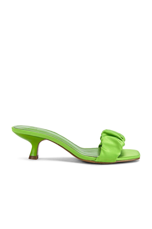 LPA Oscar Heel in Lime Green