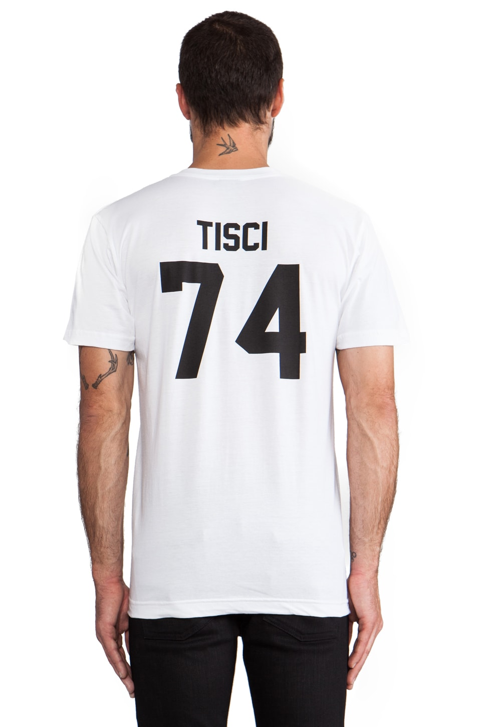 LPD New York Tisci Tee with Black in White