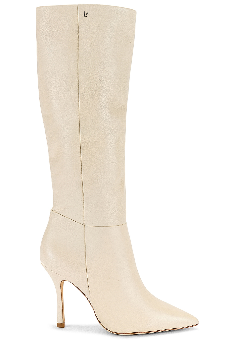 Larroude The Kate Boot in Ivory