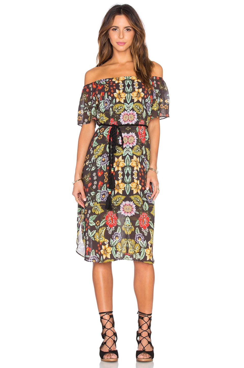 Love Sam Silvia Dress in Warhol Flower Print
