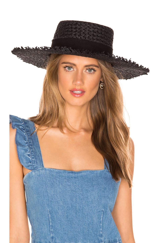 L*SPACE Jenny Hat in Black