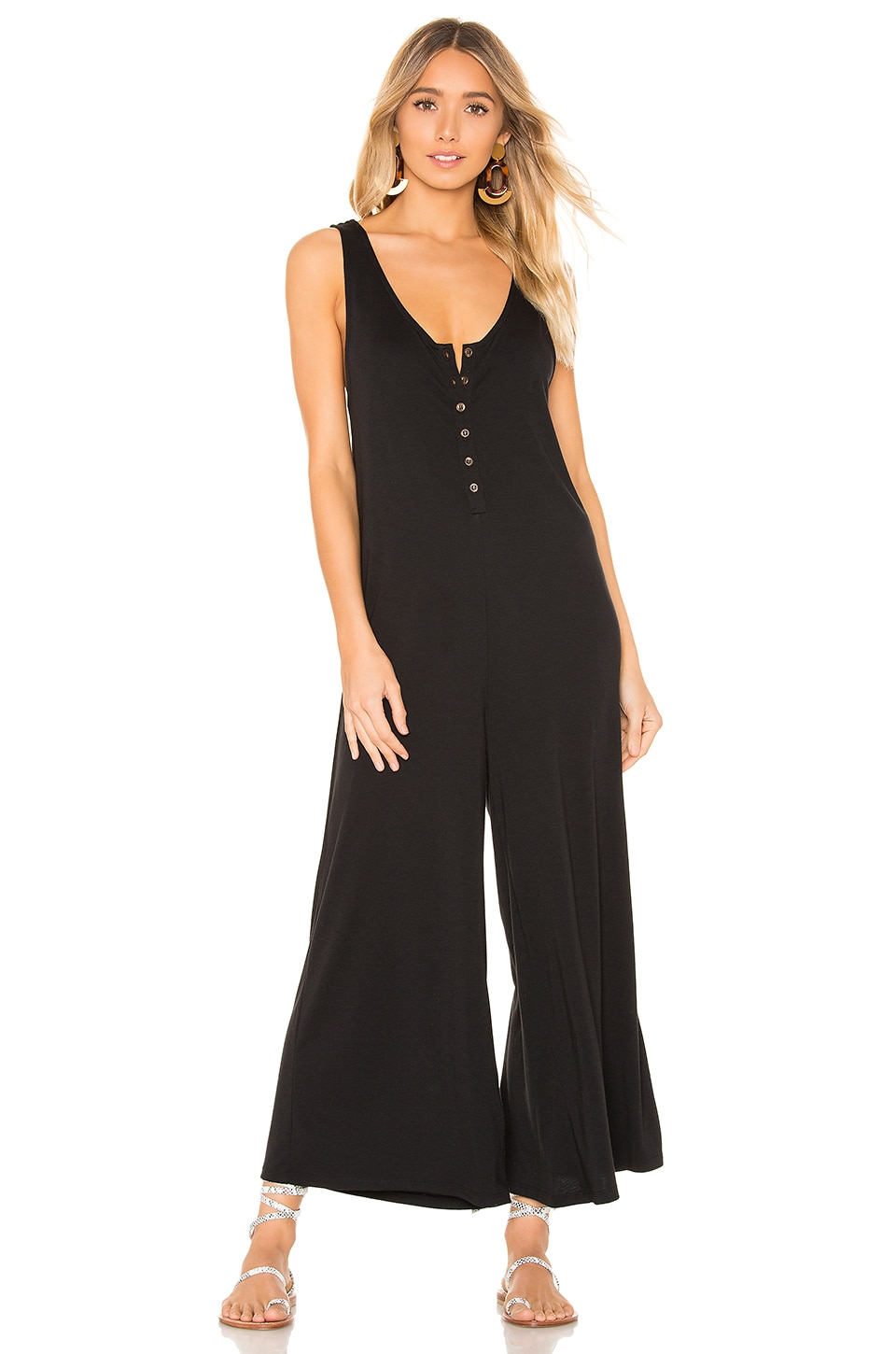 L*SPACE Gloria Jumpsuit in Black