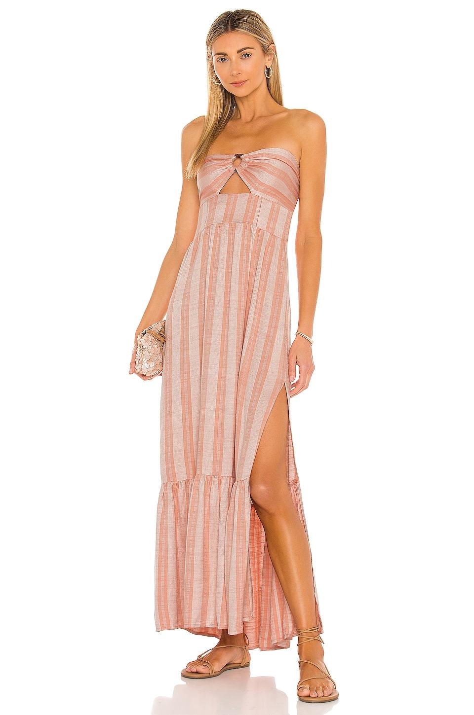 L*SPACE Melody Dress in Melody Stripe