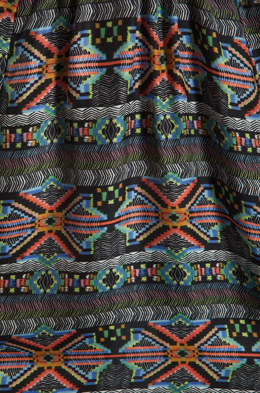 L*SPACE Tribe Cold Shoulder Dress in Multi