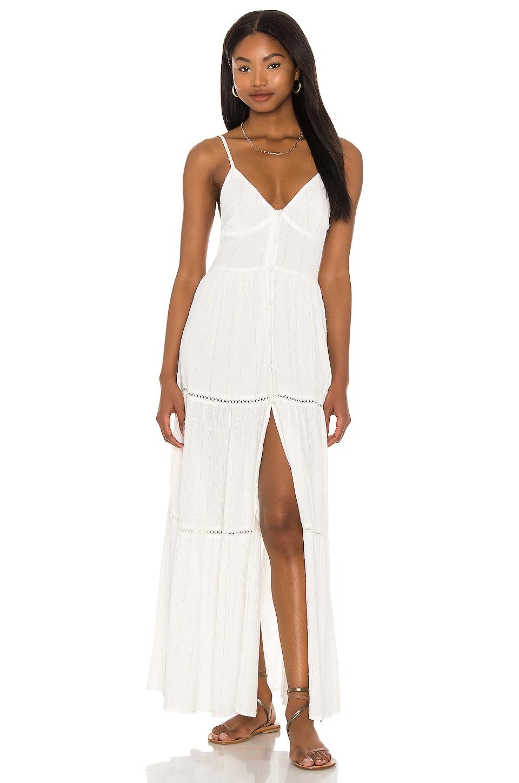 L*SPACE Sunrise Escape Dress in White