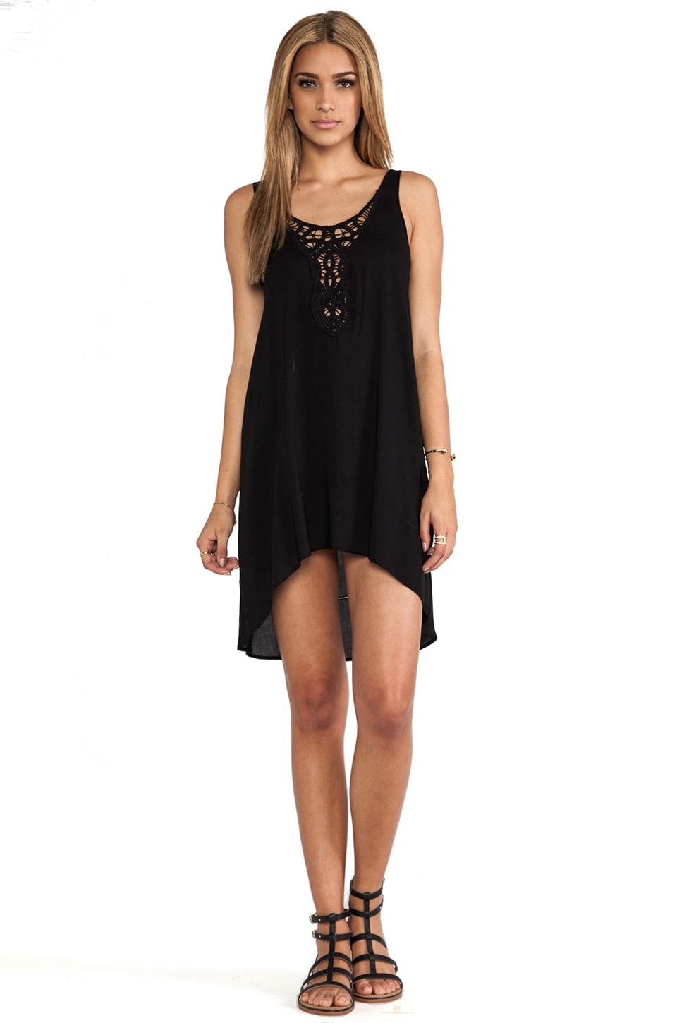 L*SPACE Off Shore Dress in Black