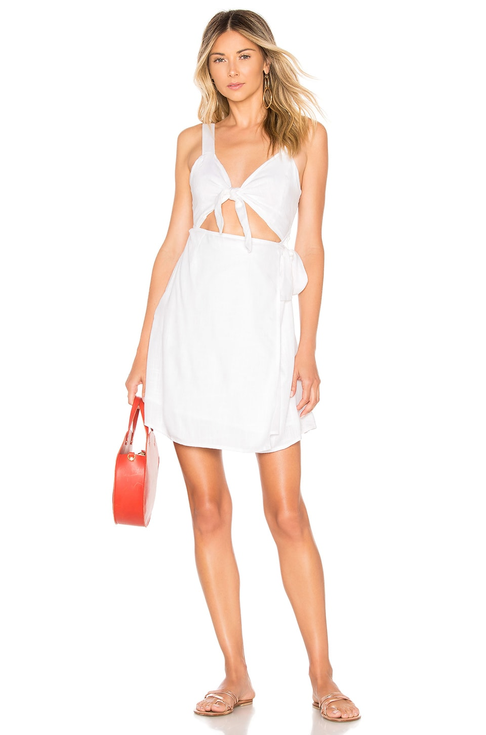 Morning Star Cover-Up Dress, White