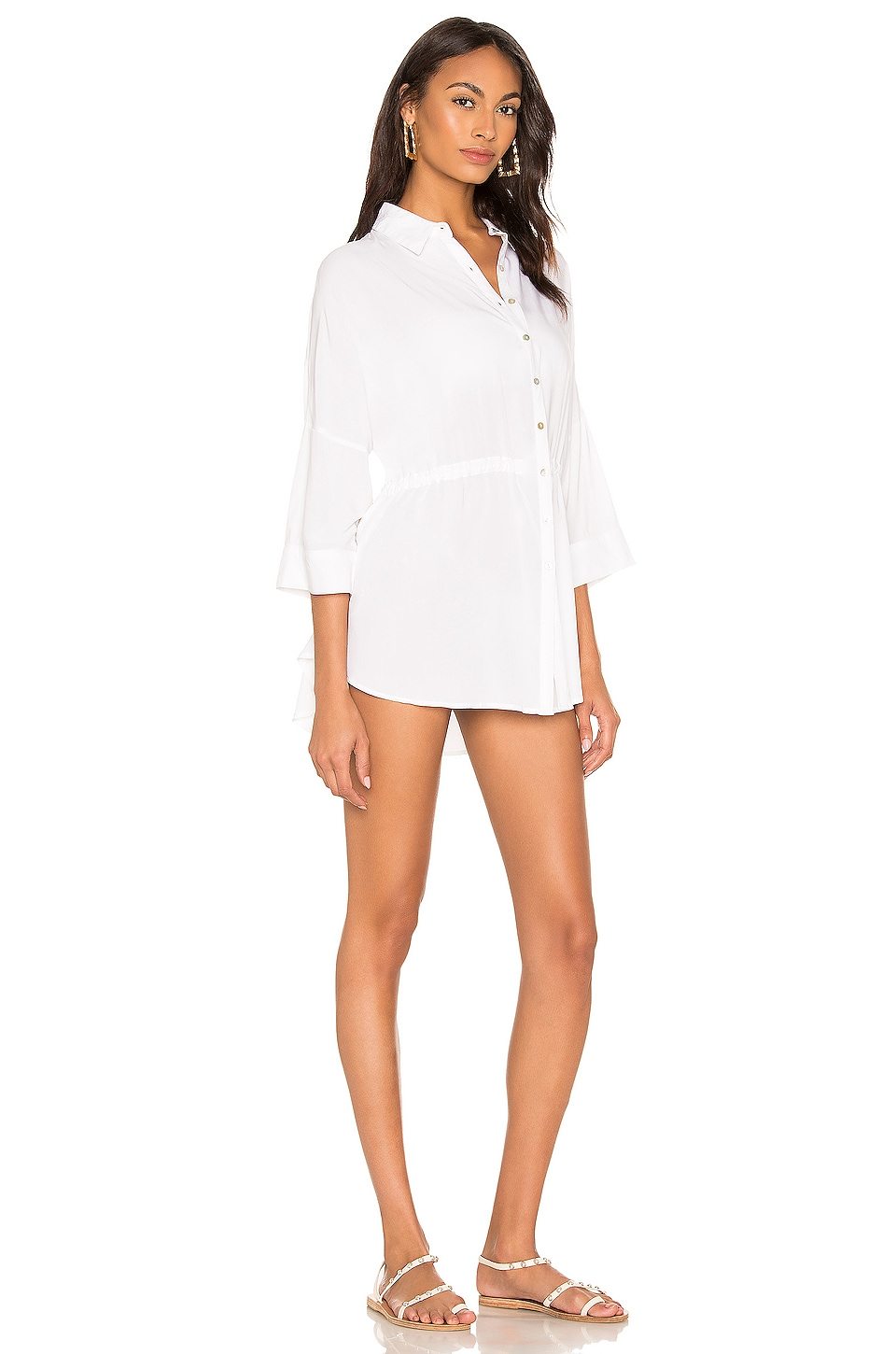 Pacifica Shirt Dress, view 3, click to view large image.
